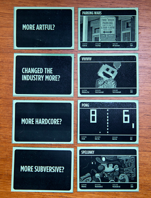 Summer 2010: the first playtested card design