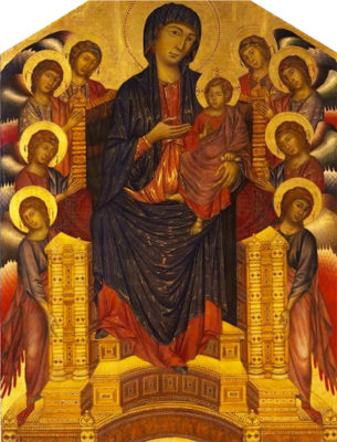 Cimabue's Madonna Enthroned
